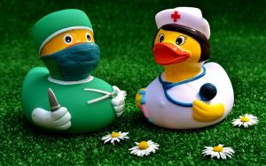 surgeon and doctor ducks