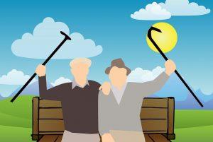 seniors in good mental health