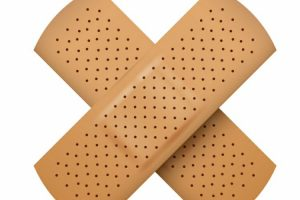 bandage for elderly wound care
