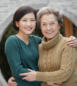 Young caregiver who no longer has caregiver guilt