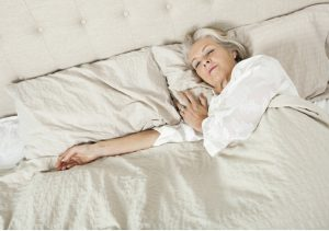 women resting during post-op recovery for seniors